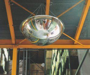 Dodávka a montáž 360° panoramatických zrkadiel s priemerom 1000 mm.